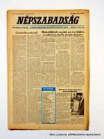 1981 október 4  /  NÉPSZABADSÁG  /  Régi ÚJSÁGOK KÉPREGÉNYEK MAGAZINOK Szs.:  12070