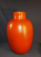 Tófej kerámia váza nagy méret 35 cm