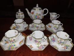 Herendi VBO Viktória teás készlet