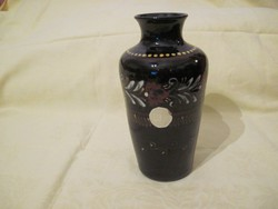 Antik Hódmezővásárhelyi jelzett majolika váza