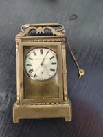 Improved patent  1860 körüli utazó óra.