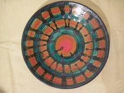 Kerámia falitányér 27 cm átmérő