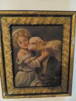 """""""Benczúr Gy"""" szignóval ellátott festmény"""