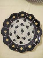 Hódmezővásárhelyi kerámia falitányér  fali tányér 29 cm átmérő