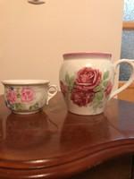 Rózsás csupor, koma csésze! Gyönyörűek!
