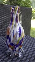 Muránói színes üveg kancsó