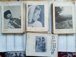 Új idők 73 db (1932-33-40-41.év)