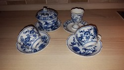 Antik Meisseni porcelánok