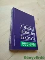 A magyar irodalom évkönyve 1995-1996