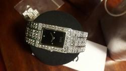 Eredeti D&G TIME kristályokkal kirakott női karóra
