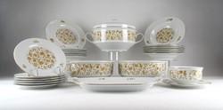 0Y666 Henneberg porcelán étkészlet 25 darab