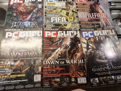 PC Guru Magyarország legolvasottabb játékmagazinja  2013. 12. , 2016. 10. , 2016. 11. , 2016., 12.