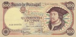 Portugal 500 escudos 1966   VF+
