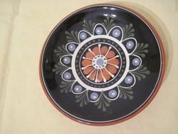 Régi kerámia asztalközép kínáló  18 x 5 cm