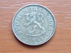 FINNORSZÁG 20 PENNIA 1964  S