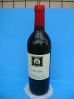 Borosüveg alakú gyertya nemcsak borkedvelőknek! Eredeti bulis ajándék!
