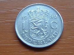 HOLLAND 1 GULDEN 1980