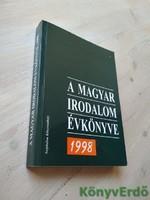 A magyar irodalom évkönyve 1998