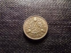 Anglia V. György .500 ezüst 3 Pence 1934 / id 12555/
