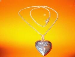 Fényképtartós Szív a szívben Nyitható medálos Nyaklánc