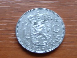 HOLLAND 1 GULDEN 1972