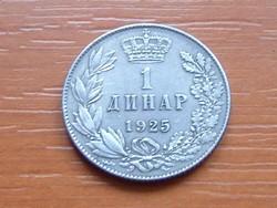 SZERB HORVÁT SZLOVÉN KIRÁLYSÁG 1 DINÁR 1925 (p)