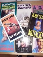 8 db Robin Cook könyv