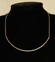 Vastagon aranyozott szépséges nyaklánc