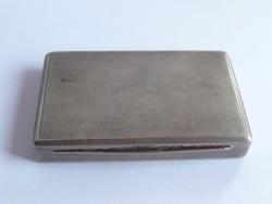 Ezüst dobozka, névjegytartó