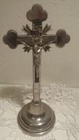 Asztali feszület, kereszt, 21 cm