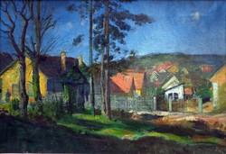 """Móritz Sándor ( 1924-1966 ) """" Reggeli napfényben..."""""""