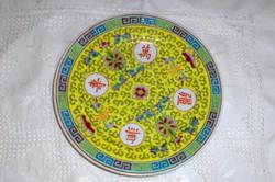 Kínai kézzel festett tányér