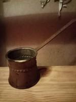 Régi réz kávé kiöntő