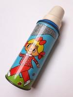 Retro gyerek termosz fém palack