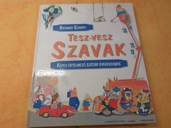 Richard Scarry  TESZ - VESZ Szavak  KÉPES ÉRTELMEZŐ SZÓTÁR Gyerekeknek, 1993