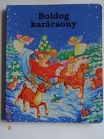 M. Csepécz Szilvia: Boldog Karácsony - kemény lapos mesekönyv