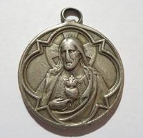 Jézus ábrázoló medál kegyeleti medál