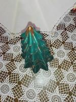 Karácsonyfa mécsestartó.