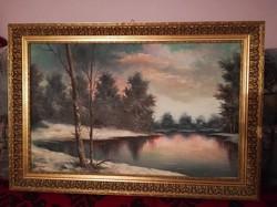 Festmény szignóval eladó.