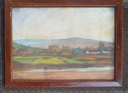 Ács Ferenc (1876-1949) Nagybányai táj