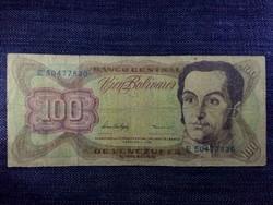 Venezuela 100 bolivar 1998 / id 5368/