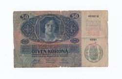 """50 Korona 1914 """"gyenge""""!"""