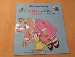 Richard Scarry  Nagy     -     BIG És Kicsi       AND Little Magyarul     IN English, 1990