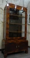 Eredeti restaurált art deco / bauhaus vitrin szekrény