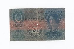 """20 Korona 1913 """"gyenge"""""""