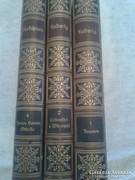 3db német irodalmi könyv