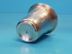 Ezüst pohár, 800-as finomság, a XX. szd. első fele - 24.000 Ft