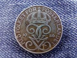 Svédország V. Gusztáv (1907-1950) 5 Öre 1950 / id 9297/