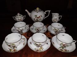 1,-Ft,- Makulátlan Herendi Rothschild teás készlet