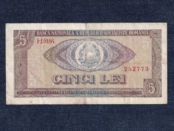 Románia 5 Lej bankjegy 1966 / id 12763/